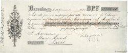 12204,60 Francs FRANCE régionalisme et divers Bangkok (Thaïlande) 1888 DOC.Lettre SUP