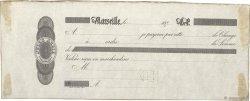 Francs FRANCE régionalisme et divers Marseille 1870 DOC.Lettre TTB