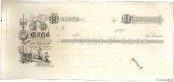 Francs FRANCE régionalisme et divers MULHOUSE 1870 DOC.Chèque TTB