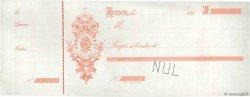 Francs FRANCE régionalisme et divers LE HAVRE 1890 DOC.Chèque SUP