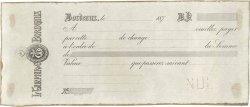 Francs FRANCE régionalisme et divers BORDEAUX 1870 DOC.Lettre