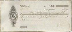 Francs FRANCE régionalisme et divers PARIS 1870 DOC.Lettre SUP