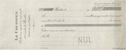Francs FRANCE régionalisme et divers PANTIN 1910 DOC.Mandat TTB