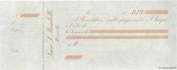 Francs FRANCE régionalisme et divers MARSEILLE 1865 DOC.Chèque SUP