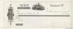 Francs FRANCE régionalisme et divers CLERMONT FERRAND 1850 DOC.Mandat SUP