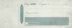 Francs FRANCE régionalisme et divers COGNAC 1900 DOC.Chèque TTB