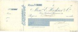 Francs FRANCE régionalisme et divers Paris 1865 DOC.Chèque TTB
