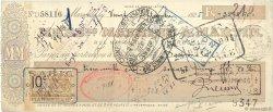 3575,70 Francs FRANCE régionalisme et divers MARSEILLE 1925 DOC.Chèque TTB