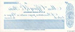 Francs FRANCE régionalisme et divers PARIS 1885 DOC.Chèque SPL