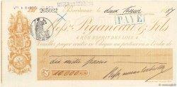 10000 Francs FRANCE régionalisme et divers BORDEAUX 1887 DOC.Chèque SPL