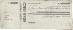 (B.P.) FRANCE régionalisme et divers Constantinople 1870 DOC.Lettre TTB