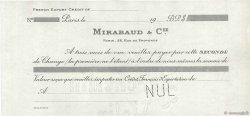 Dollars FRANCE régionalisme et divers PARIS 1900 DOC.Lettre SPL