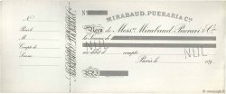 Francs FRANCE régionalisme et divers Paris 1890 DOC.Reçu TTB