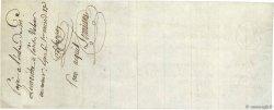 125 Livres 1 Sol tournois FRANCE régionalisme et divers Paris 1805 DOC.Chèque SUP