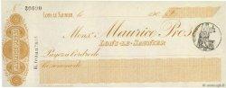 Francs FRANCE régionalisme et divers LONS-LE-SAUNIER 1900 DOC.Chèque SUP