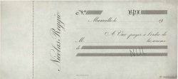 Francs FRANCE régionalisme et divers Marseille 1900 DOC.Chèque SUP