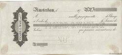 Francs FRANCE régionalisme et divers AMSTERDAM (PAYS-BAS) 1870 DOC.Lettre SUP