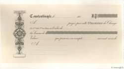 (B.P.) FRANCE régionalisme et divers CONSTANTINOPLE (TURQUIE) 1880 DOC.Lettre SUP