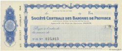 Francs FRANCE régionalisme et divers PARIS 1932 DOC.Chèque SUP