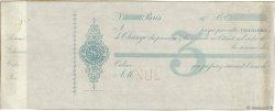 Francs FRANCE régionalisme et divers Paris 1872 DOC.Lettre TTB