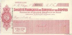 Francs FRANCE régionalisme et divers PARIS 1910 DOC.Chèque SUP
