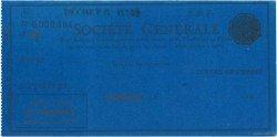Francs FRANCE régionalisme et divers CASABLANCA (MAROC) 1924 DOC.Chèque SUP