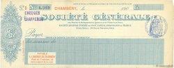 Francs FRANCE régionalisme et divers Chambéry 1900 DOC.Chèque SUP