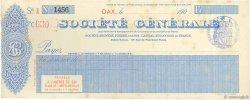 Francs FRANCE régionalisme et divers DAX 1900 DOC.Chèque SUP