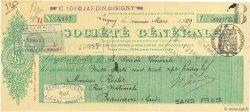 1437,20 Francs FRANCE régionalisme et divers ISIGNY 1929 DOC.Chèque SUP