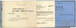 Francs FRANCE régionalisme et divers MEAUX 1938 DOC.Chèque TTB