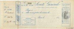 Francs FRANCE régionalisme et divers PARIS 1879 DOC.Chèque SUP