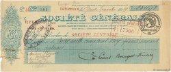 2511,75 Francs FRANCE régionalisme et divers TROUVILLE 1919 DOC.Chèque TTB