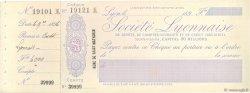 Francs FRANCE régionalisme et divers Lyon 1896 DOC.Chèque SUP