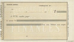 Francs FRANCE régionalisme et divers (PARIS) 1900 DOC.Chèque SUP