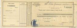 Francs FRANCE régionalisme et divers Soissons 1910 DOC.Chèque SUP