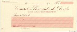 Francs FRANCE régionalisme et divers Besançon 1930 DOC.Chèque SPL
