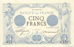 5 Francs NOIR  FRANCE  1872 F.01.03 SUP+