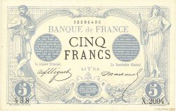 5 Francs NOIR  FRANCE  1873 F.01.16 SPL
