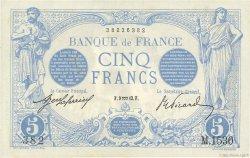 5 Francs BLEU FRANCE  1913 F.02.13 SUP à SPL