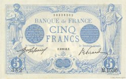 5 Francs BLEU FRANKREICH  1913 F.02.13