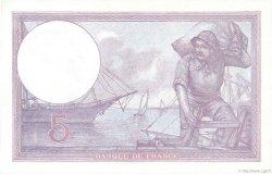 5 Francs VIOLET FRANCE  1922 F.03.06 pr.NEUF
