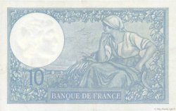 10 Francs MINERVE  FRANCE  1937 F.06.18 SUP+