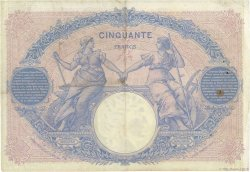 50 Francs BLEU ET ROSE FRANCE  1900 F.14.12 TB à TTB