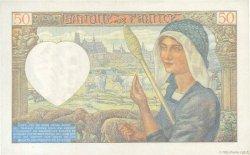 50 Francs JACQUES CŒUR FRANCE  1941 F.19.10 pr.SPL