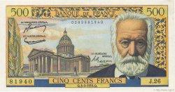 500 Francs VICTOR HUGO FRANCE  1954 F.35.02 pr.NEUF