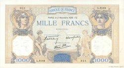 1000 Francs CÉRÈS ET MERCURE type modifié FRANCE  1939 F.38.38 SUP+