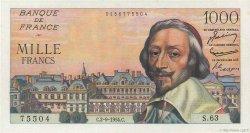 1000 Francs RICHELIEU FRANCE  1954 F.42.07 SPL