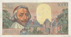 1000 Francs RICHELIEU FRANCE  1957 F.42.25 TTB