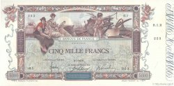 5000 Francs FLAMENG FRANCE  1918 F.43.01 pr.SUP