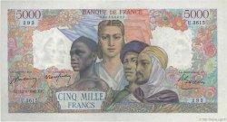 5000 Francs EMPIRE FRANÇAIS FRANCE  1947 F.47.60 pr.SPL